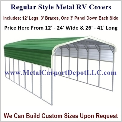 Metal Rv Covers Price Order Online Metal Carport Depot