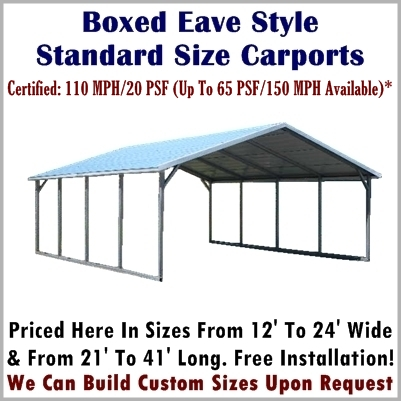 Metal Carport Prices | Steel Carport Kits | Metal Carport Depot